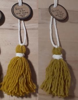 verge d'or; laine; teinture laine; teinture végétale; teinture naturelle; teinture tissu; teinture textile